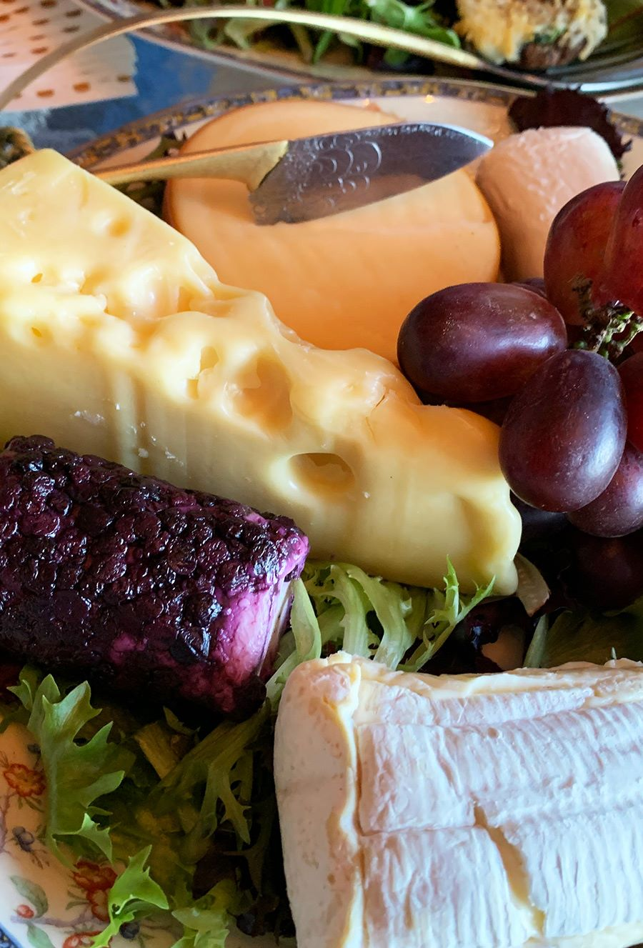 Gourmet Cheese and Fruit Plate