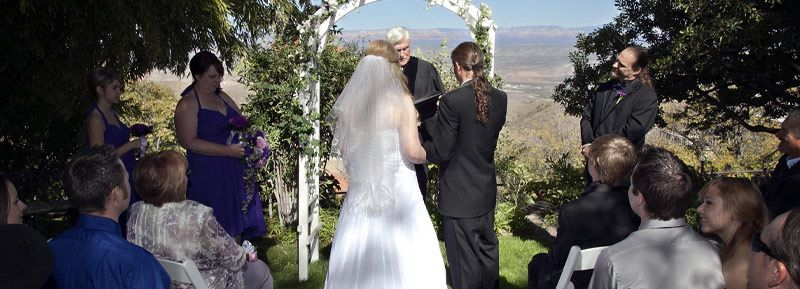 Weddings in Jerome AZ at The Surgeon's House