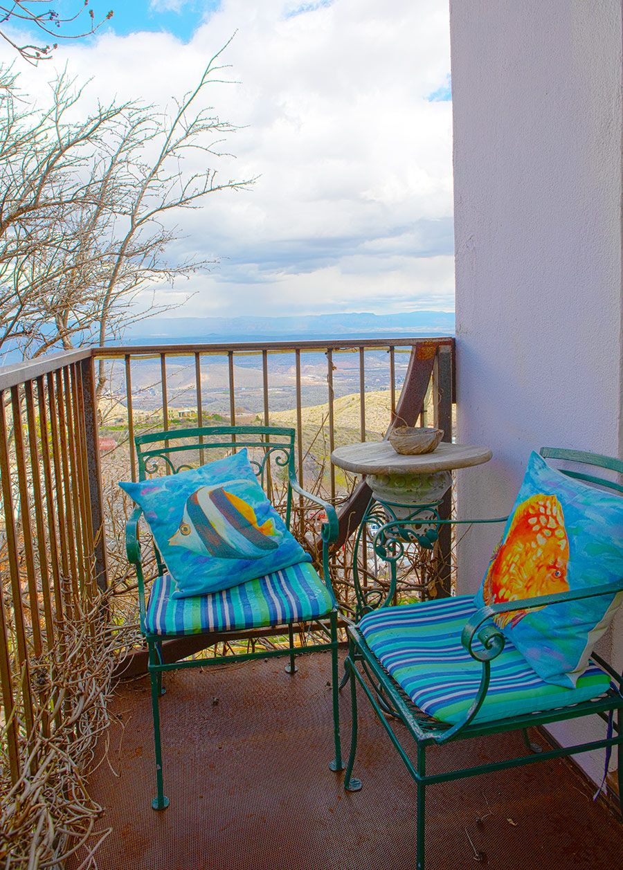 Maid's Suite Front balcony