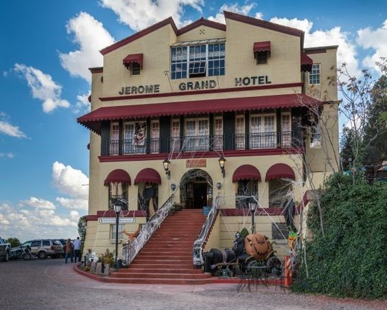 The Grand Hotel, in Jerome, is a popular destination and features the Asylum Restaurant.