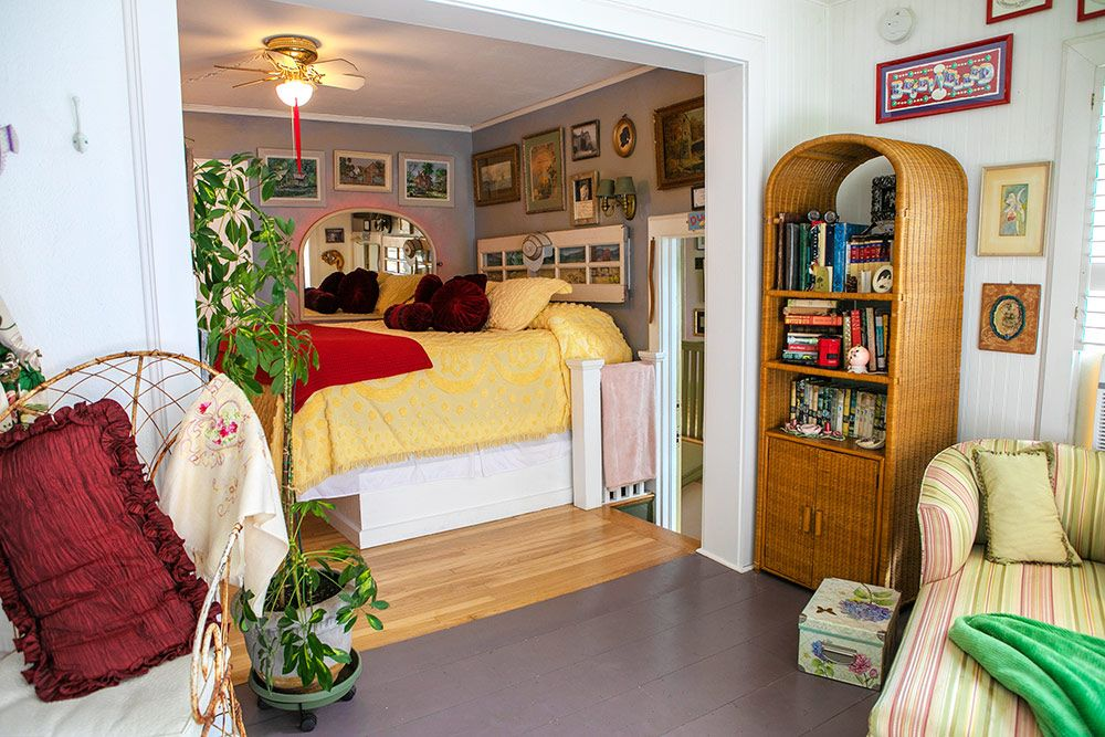 Maid's Suite Back - Cozy, comfortable rooms in Jerome Arizona