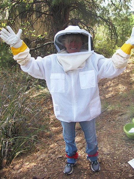 Andrea the beekeeper