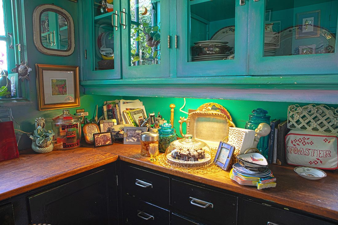 Epicurean delights on the kitchen counter