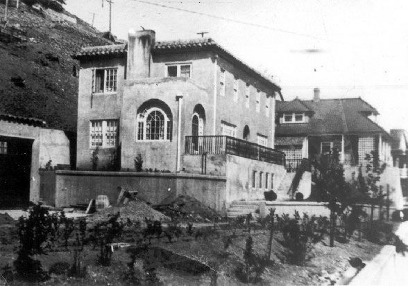 Historic photo of The Surgeon's House in Jerome