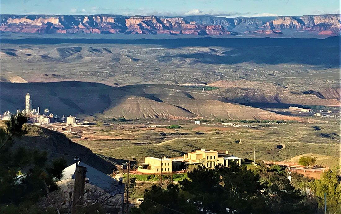 The Rim from Jerome