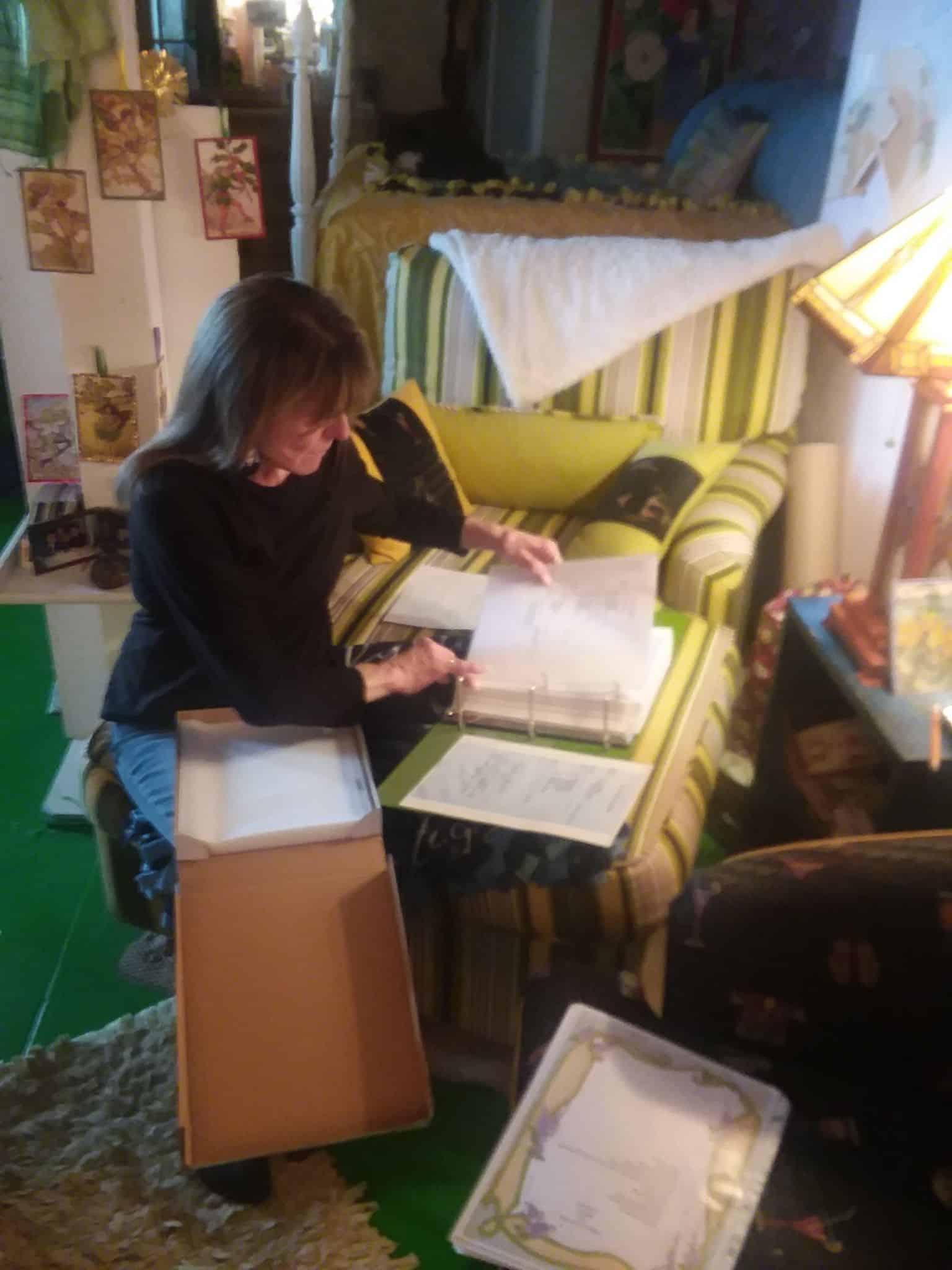 Assembling Recipes binder