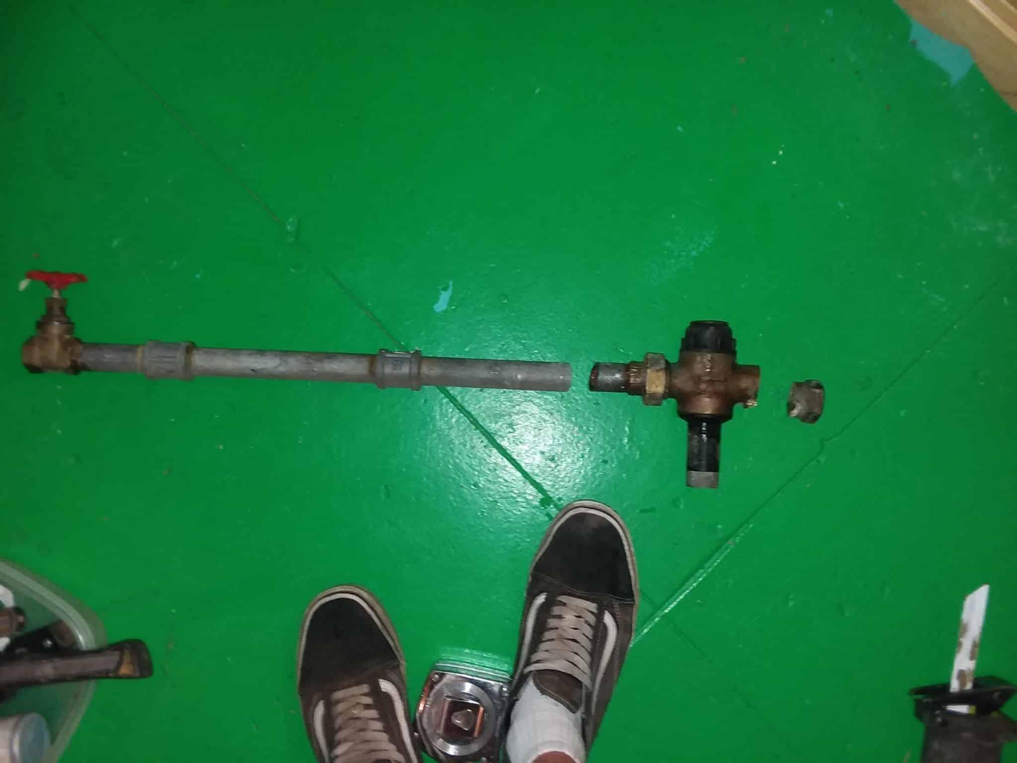 Disabled valve