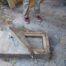 Concrete header removed